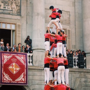 La Merce Castellos Humanos Human Towers