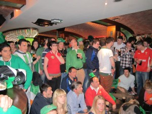 England Ireland Rugby Match St. Patricks Day 2012