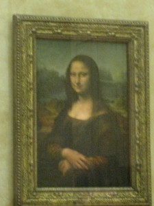 mona lisa paris france