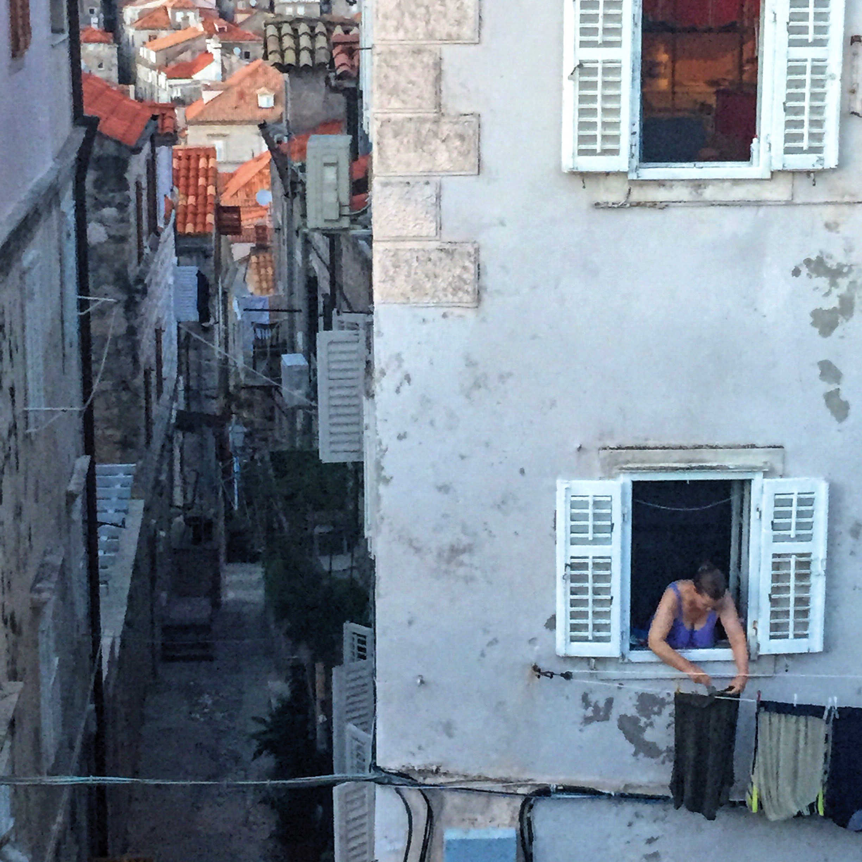 Dubrovnik, Croatia walking the old city walls