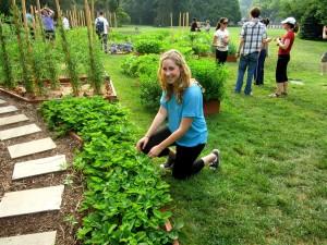 Tending the White House Garden