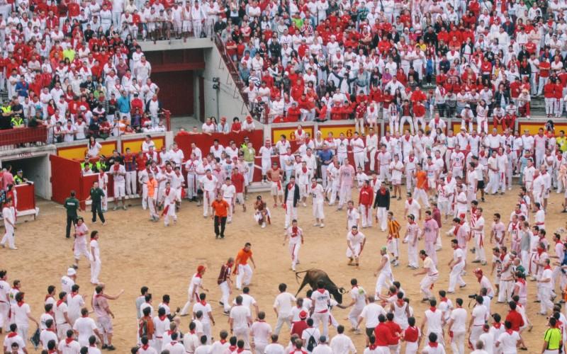 Europe festivals San Fermin