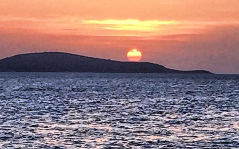 Croatia itinerary sunset