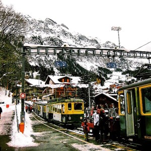 train transportation in Switzerland