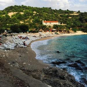 beach in Hvar, Croatia