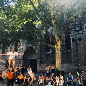 Barcelona La Merce September Castillos Humanos