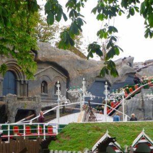Tivoli Gardens Roller Coaster