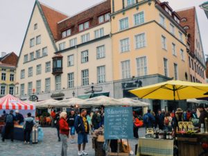 walkable cities Tallinn