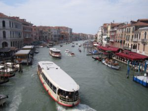 Venice canals spontaneous summer