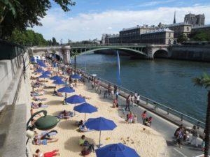 Paris spontaneous summer