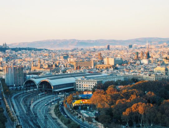 Spain itinerary view of Barcelona
