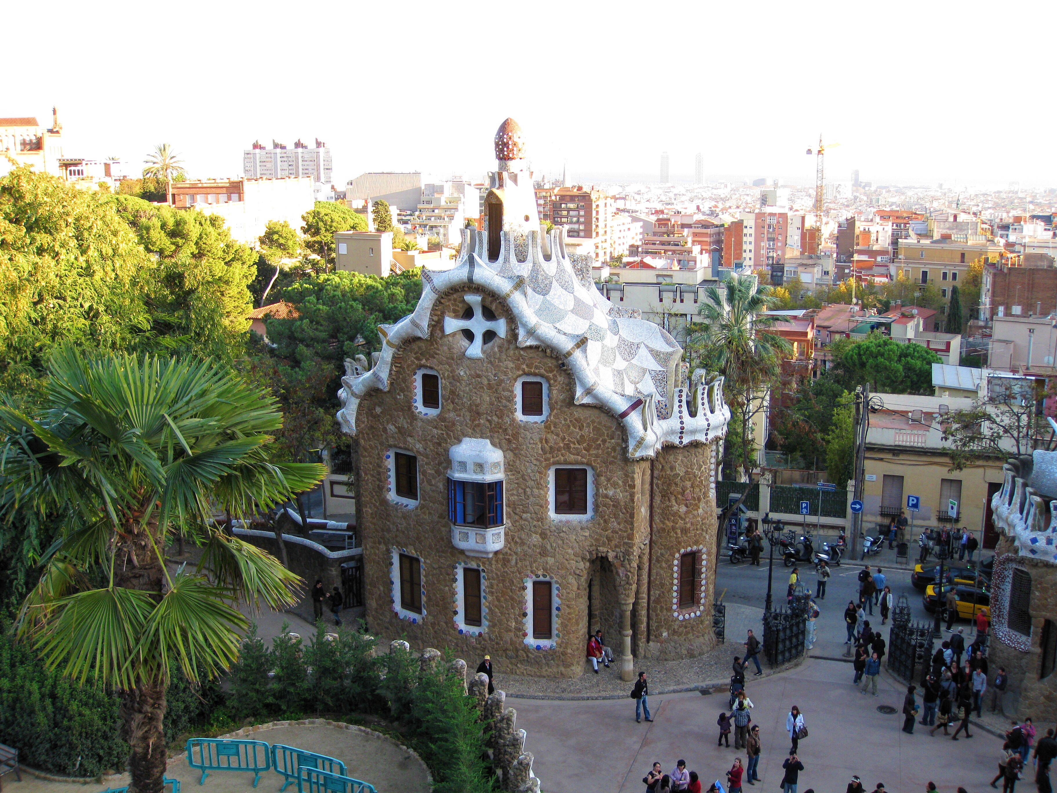 Spain itinerary Parc Guell Barcelona