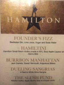 Hamilton Drink Specials