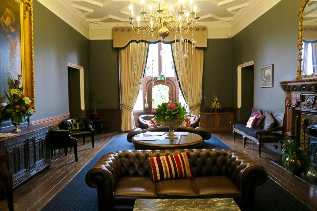 Ruthin Castle sitting room