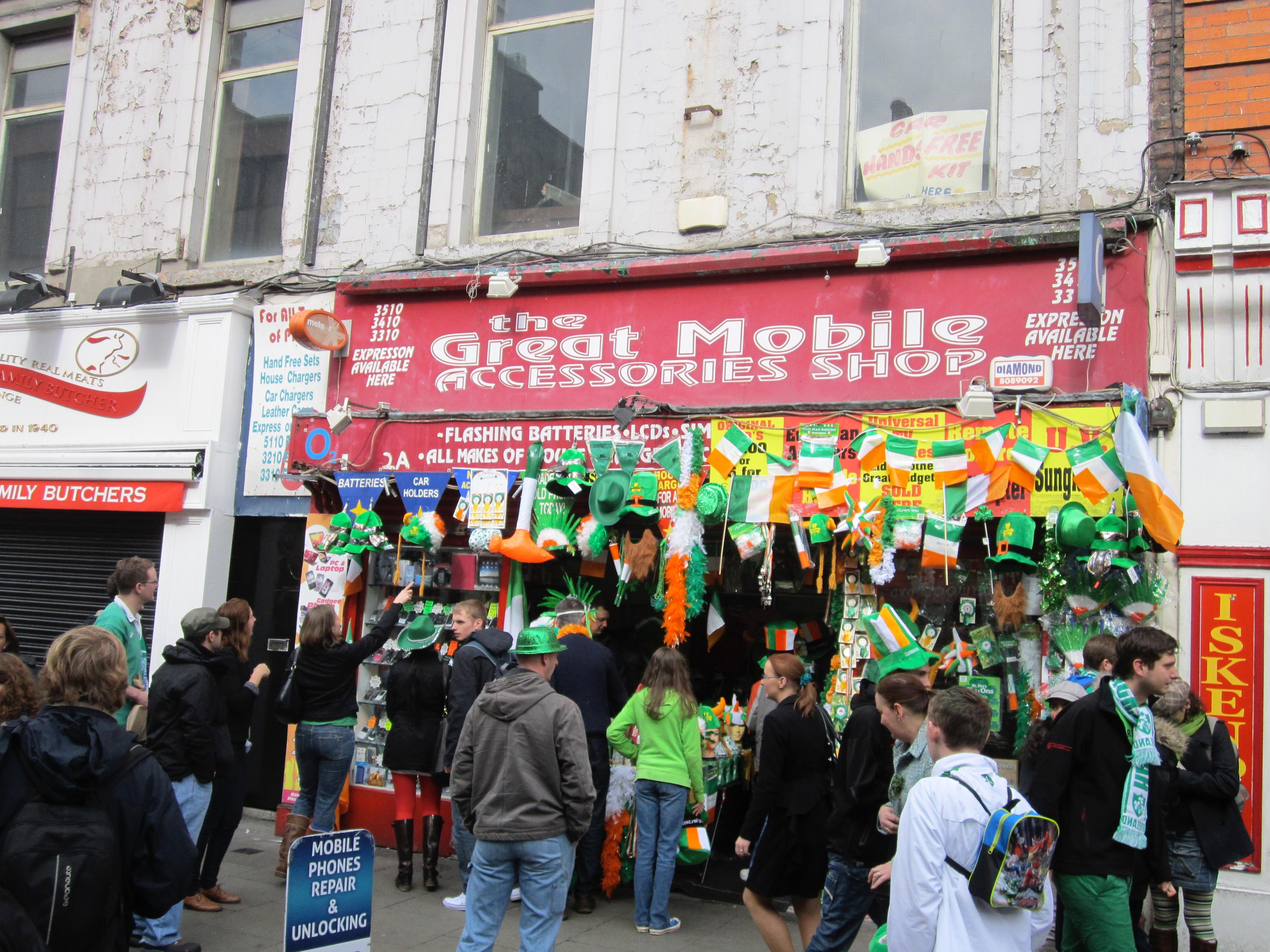 St Patrick's Day Dublin Ireland