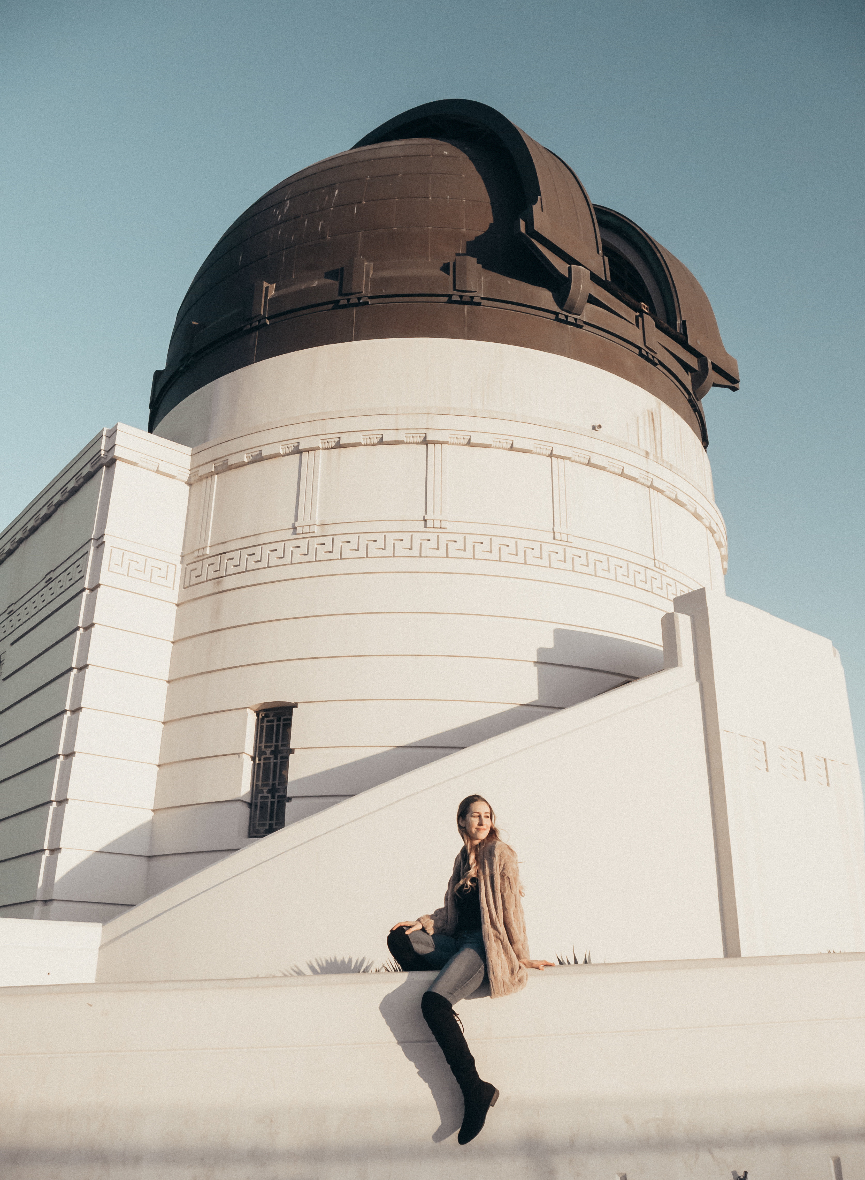 fun activities in Los Angeles: sunset at Griffith Observatory