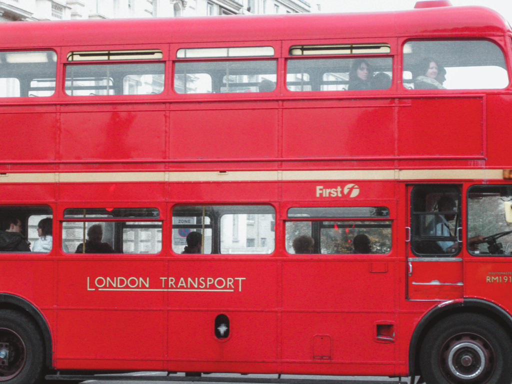 5 Days in London Itinerary Double Decker Bus