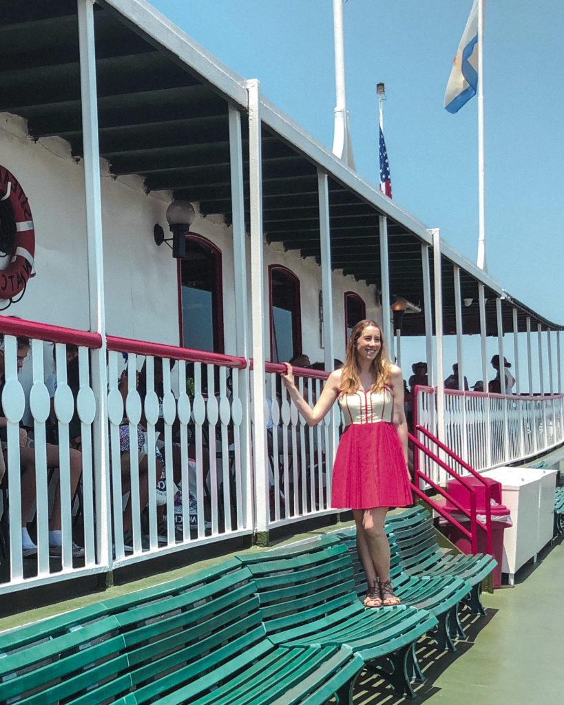 New Orleans Natchez Steamer